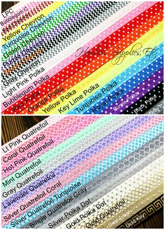 Fold Over Elastic - Printed 5/8 inch – Hairbow Supplies, Etc.