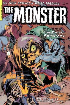Comic Book Cover For Monster #2