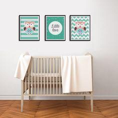 Set Of 3 Nursery Art Prints art set of 3 cute di PrintableAtelier
