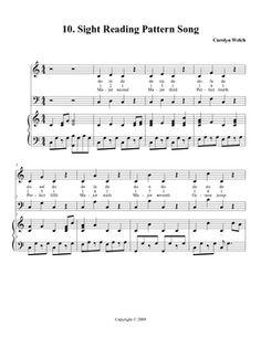Concert Program Template  Teaching MusicChoir Middle School