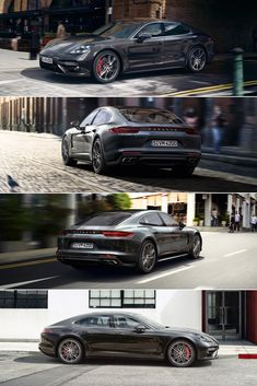 The new #Panamera Turbo has a 4.0-litre twin-turbo V8 engine producing 404 kW (550 hp).  Learn more: http://link.porsche.com/panamera-pin-gallery  *Combined fuel consumption in accordance with EU 6: 9.4-9.3 l/100 km; CO2 emissions: 214-212 g/km.