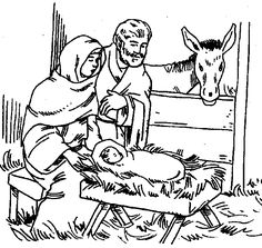 baby jesus christmas kid crafts | baby jesus in a manger coloring ... - Baby Jesus Coloring Pages Kids