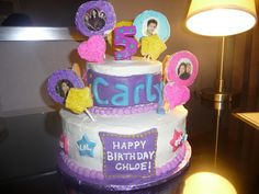 Dreaming in Buttercream: iCarly Cake