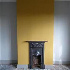 Paint Colours    India Yellow    Farrow & Ball
