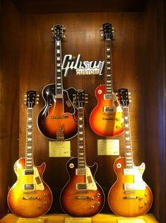 Gibson Les Paul Custom Shop Guitars