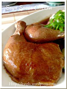 Braise then AF 200 deg for to crisp skin. Braise then AF 200 deg for to crisp skin. Soya Sauce Chicken, Soy Chicken, Asian Chicken, Chicken Recipes, Chicken Drumsticks, Chicken Rice, Turkey Recipes, Soy Sauce, Chinese Cooking Wine