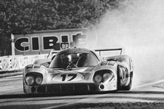 Jo Siffert / Derek Bell, #17 Porsche 917LH, 24 Hours Le Mans 1971 (DNF)