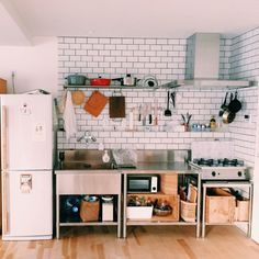 hello_210さんの、業務用キッチン,りんご箱,amadana,vamo,キッチン,のお部屋写真