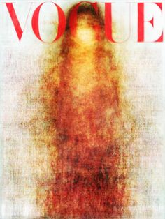 :all the Vogue covers [of every country] for 2010 overlayed over eachother