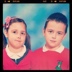 via @clairejustineo School Days my babies