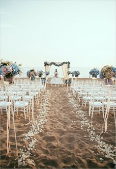 altar para casamento na praia