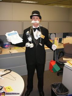 Monopoly Man (Rich Uncle Pennybags) - 2012 Halloween Costume Contest
