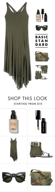 """Untitled #639"" by modernmoda ❤ liked on Polyvore featuring Bobbi Brown Cosmetics, Barbara Bui, Giuseppe Zanotti and Yves Saint Laurent"