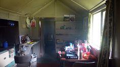 Our cabin, Gunn's Camp, Fiordland, New Zealand