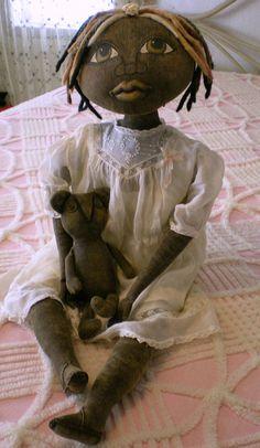 primitive+dolls | Character Prim Dolls - Born Barefoot Dolls