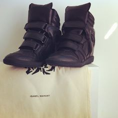 Isabel Marant Sneakers; For this is the real love. <3