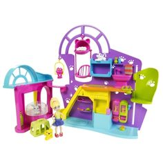 POLLY POCKET® PLAYTIME PET SHOP™ Play Set - Shop.Mattel.com