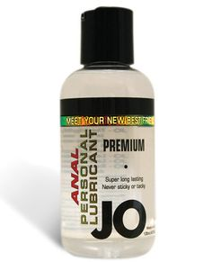 System Jo Anal Personal Lubricant - 4.5 Oz Meet Jo, the new addition to your relationship! System Jo Anal Personal Lubricant is made with Silicone. The lubricant comes in a 4.5-ounce bottle with push top lid. Jo is formulated to last long and never leave a sticky feeling behind. With U.S. FDA regulations backing Jo, you know it is safe. Slide into something amazing!