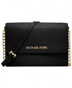 013509c940a24 MICHAEL Michael Kors Jet Set Crossbody... want in black or brown. On