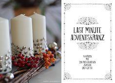 Weihnachten mit Liebe Handgemacht - BLV Verlag - Last Minute Adventskranz