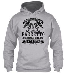 BARRETTO - My Veins Name Shirts #Barretto