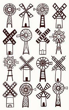 Kaitlyn McCane Illustration: Windmills