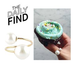 """The Daily Find: Experimental Jewellery Club Ring"" by polyvore-editorial ❤ liked on Polyvore featuring DailyFind"