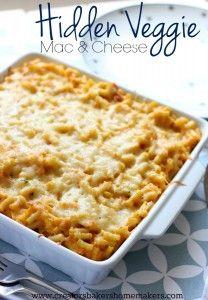 Hidden Veggie Mac And Cheese