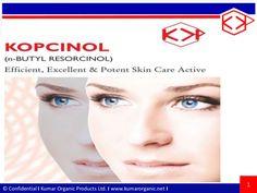Kopcinol - N-Butyl Resorcinol by Kumarorganicproducts via slideshare