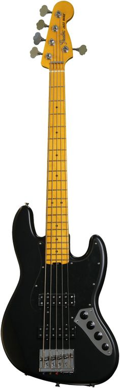 Fender Modern Player Jazz Bass V - Satin Black $600