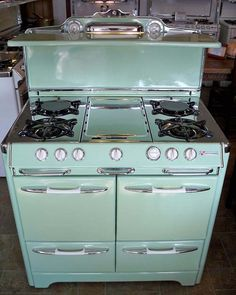 blue vintage love it this must be an update because now they have a matching dishwasher for the home pinterest vintage