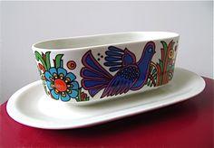 Set of 2 vintage ceramic trivets Acapulco Villeroy&Boch 70s ...