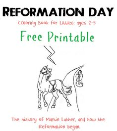 finally reformation coloring pages