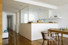 Abtrennung für offene Küche