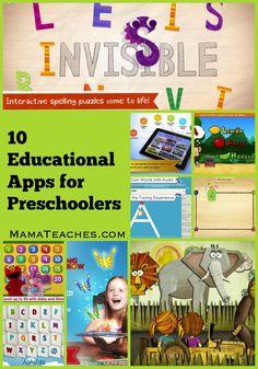 10 Educational Apps for Preschoolers