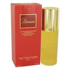 Birmane Deodorant Spray By Van Cleef & Arpels. Birmane Perfume by Van Cleef & Arpels, Launched by the design house of van cleef & arpels in 1999, birmane is classified as a sharp, flowery fragrance. This feminine scent possesses a blend of top notes including fruits and freesia, lower notes combining jasmine, red lily and white rose. Hints of musk, tonka bean and cedar.