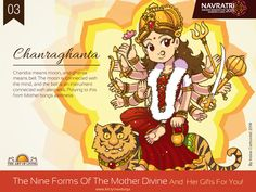 Navratri : Day 3 : Chandraghanta #Praying to this form of #Mother #Divine…