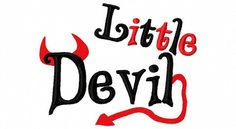 Halloween Embroidery Design Little Devil by sosassyembroidery, $2.50