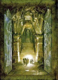 The Fantasy Art of Alan Lee ∞ Infinispace