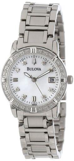 Bulova Women's 96R105 Diamond Accented Calendar Watch, Disclosure: Affiliate Link $219.00