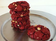 The Weekly Sweet Experiment: Red Velvet White Chocolate Chip Cookies