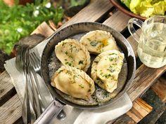 5 Rezepte aus Kärnten Camembert Cheese, Mashed Potatoes, Food And Drink, Eggs, Pasta, Chicken, Meat, Cooking, Breakfast