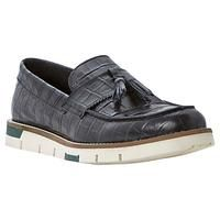 Buy Bertie Bumper Tassle Faux Croc Penny Loafers, Black £95 from Men's Loafers range at #LaBijouxBoutique.co.uk Marketplace. Fast & Secure Delivery from John Lewis online store. Mens Loafers Shoes, Loafer Shoes, Men's Shoes, Penny Loafers, Brogues, John Lewis, Crocs, Pairs, Delivery
