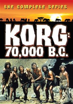 Giveaway - Korg 70,000 B.C. The Complete Series DVD from Warner Archive. Hanna-Barbera live-action caveman series from 1974. Enter by 01/10/2013