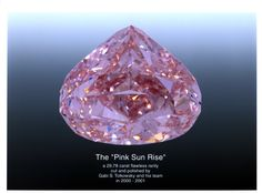 the pink sunrise, 29.78 ct, fancy pink, internally flawless