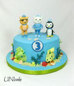 C68. Oktonautit-kakku. Octonauts cake.