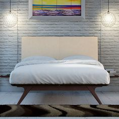 Found it at AllModern - Tracy Upholstered Platform Bed