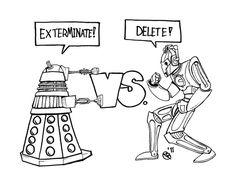 Dalekit vs. kybermiehet