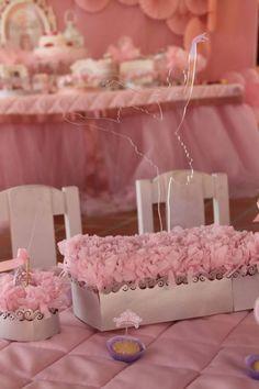 Pink Ballerina Birthday Party via Kara's Party Ideas | Kara'sPartyIdeas.com #Ballet #PartyIdeas #Supplies #Girl #Pink (8)