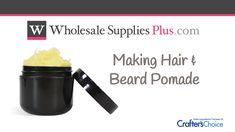 Making Hair & Beard Pomade Treat Ingrown Hair, Hair And Beard Styles, How To Make Hair, Treats, Diy, Sweet Like Candy, Goodies, Bricolage